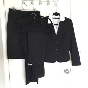 Calvin Klein 4 piece suit plus a white shirt.